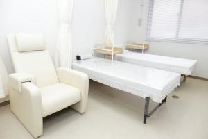 清潔な院内と処置室