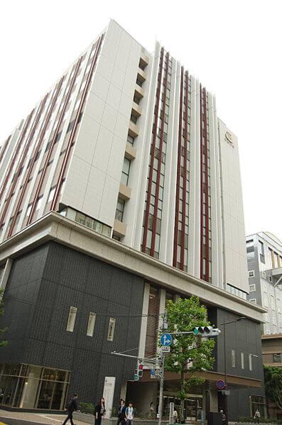 日本大学病院の外観