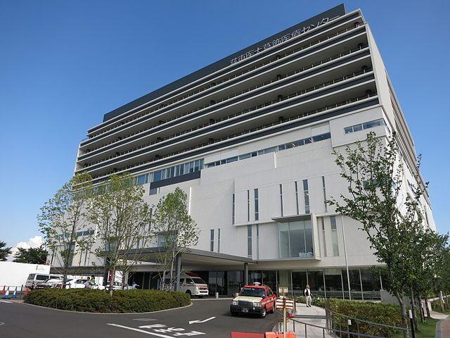 東京慈恵会医科大学葛飾医療センターの外観